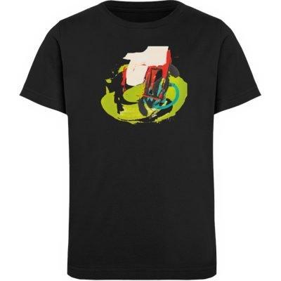 """""""Die Zukunft wird knapp"""" von Sarah Rogen - Kinder Organic T-Shirt-16"""