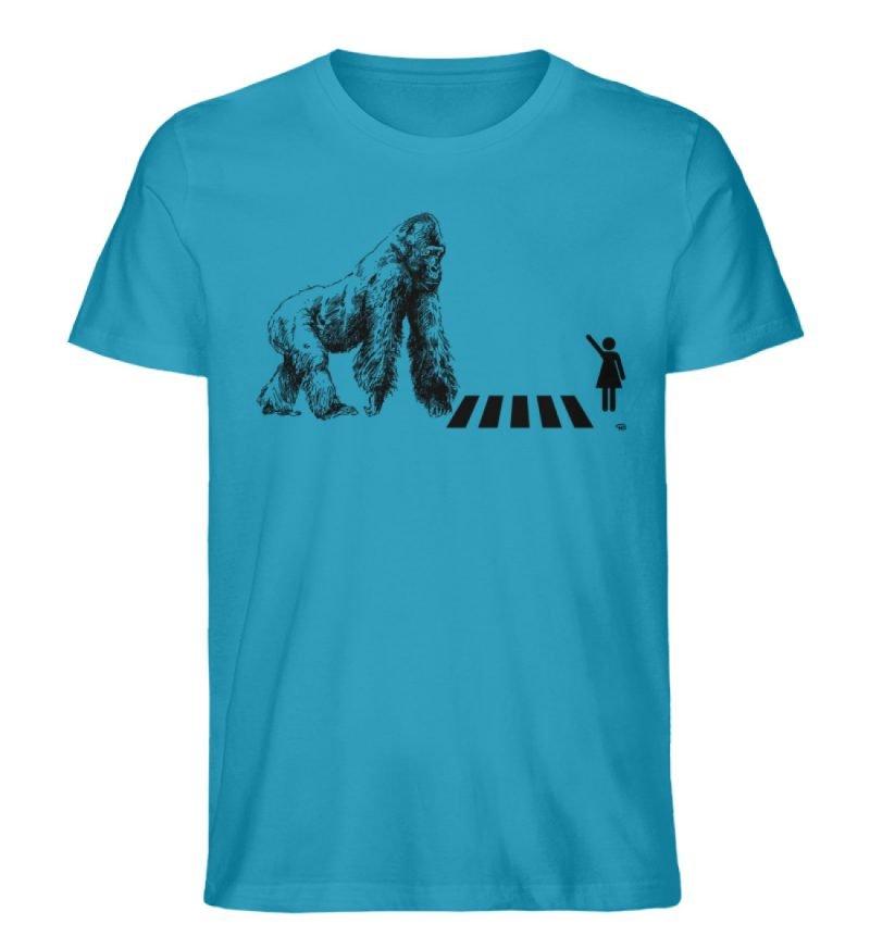 """Gorilla"" von Christoph Everding - Herren Premium Organic Shirt-6877"