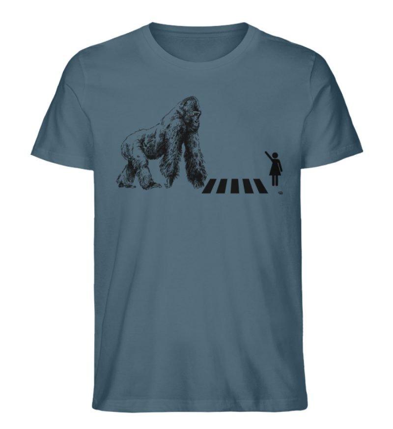 """Gorilla"" von Christoph Everding - Herren Premium Organic Shirt-6880"