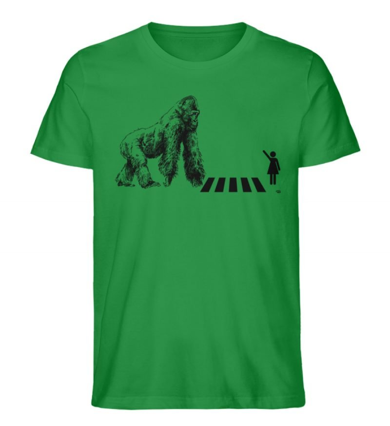 """Gorilla"" von Christoph Everding - Herren Premium Organic Shirt-6879"