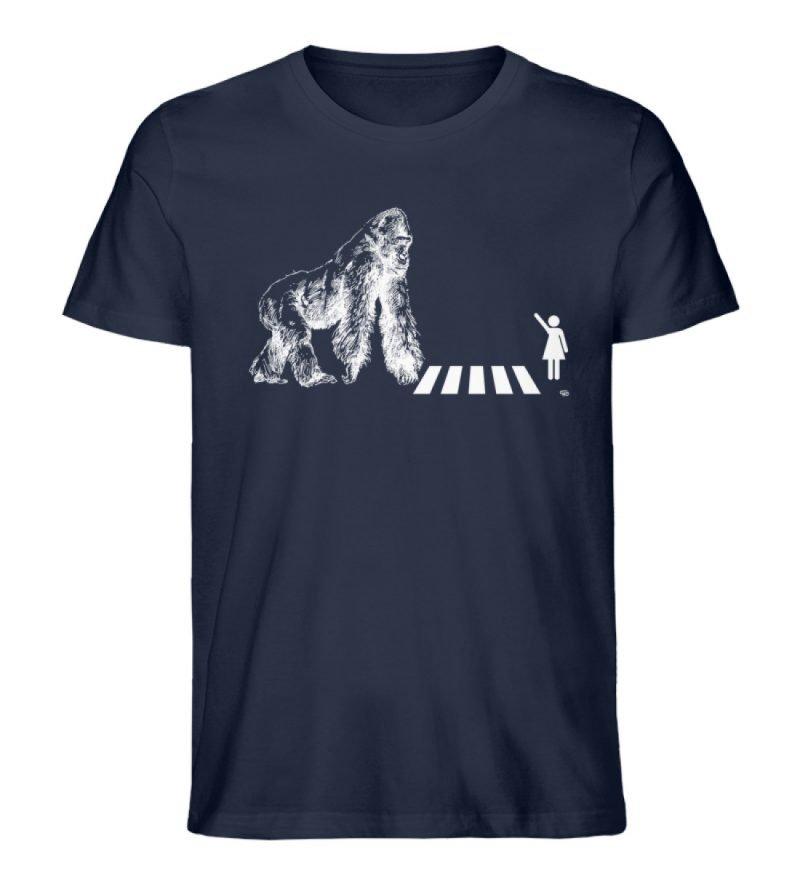 """Gorilla"" von Christoph Everding - Herren Premium Organic Shirt-6959"