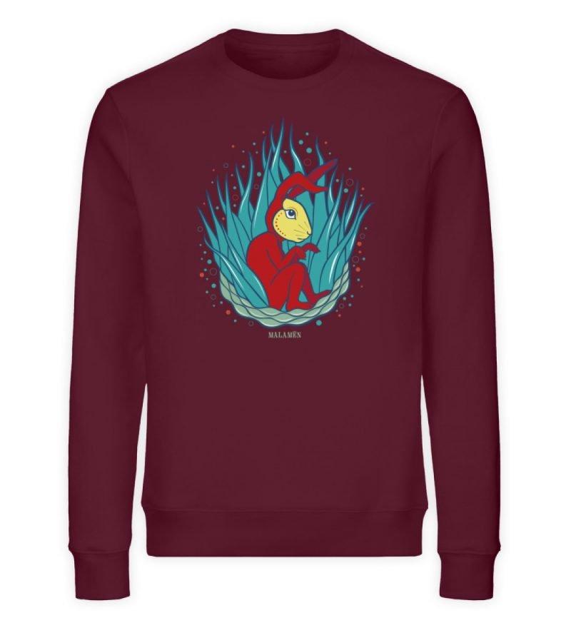 """""""Tochtli"""" von Ruth Melamen - Unisex Organic Sweatshirt-839"""