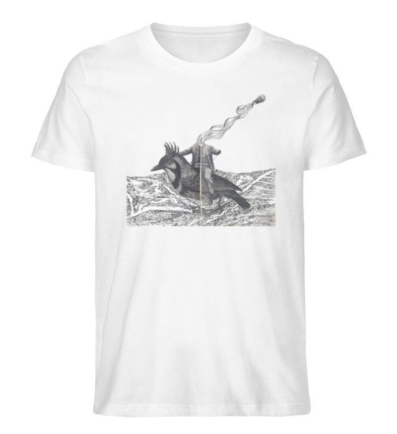 """""""boceto"""" von Chema Chino - Herren Premium Organic Shirt-3"""