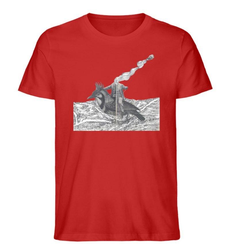"""""""boceto"""" von Chema Chino - Herren Premium Organic Shirt-4"""