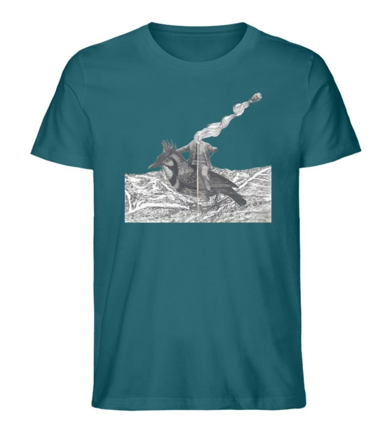 """""""boceto"""" von Chema Chino - Herren Premium Organic Shirt-6878"""