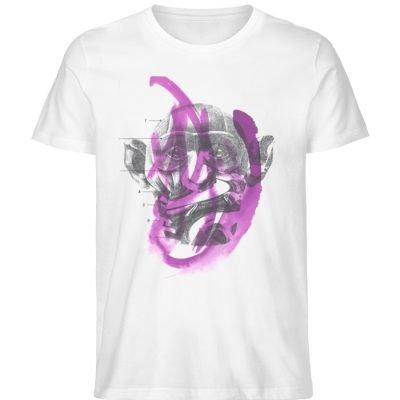 """""""dibujo"""" von Chema Chino - Herren Premium Organic Shirt-3"""