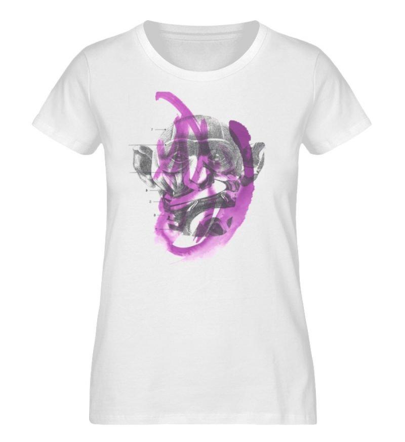 """""""dibujo"""" von Chema Chino - Damen Premium Organic Shirt-3"""