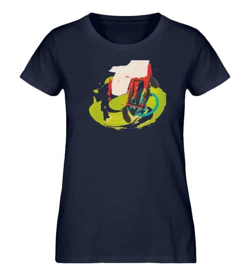 """""""Die Zukunft wird knapp"""" von Sarah Rogen - Damen Premium Organic Shirt-6959"""