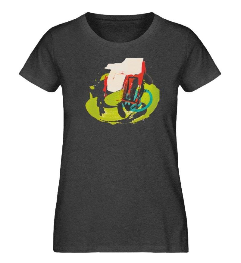 """""""Die Zukunft wird knapp"""" von Sarah Rogen - Damen Premium Organic Shirt-6881"""
