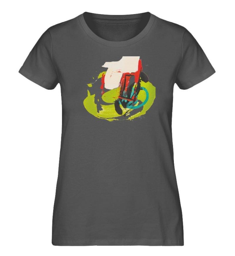 """""""Die Zukunft wird knapp"""" von Sarah Rogen - Damen Premium Organic Shirt-6903"""