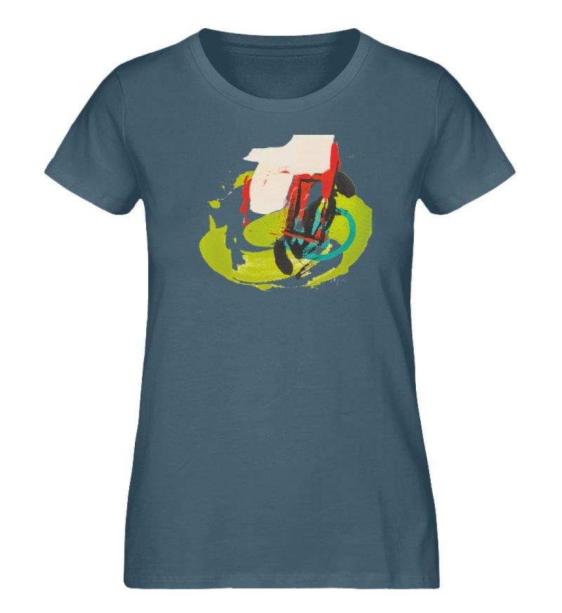 """""""Die Zukunft wird knapp"""" von Sarah Rogen - Damen Premium Organic Shirt-6880"""