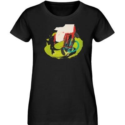 """""""Die Zukunft wird knapp"""" von Sarah Rogen - Damen Premium Organic Shirt-16"""