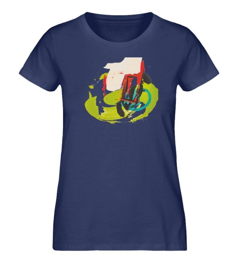 """""""Die Zukunft wird knapp"""" von Sarah Rogen - Damen Premium Organic Shirt-6057"""