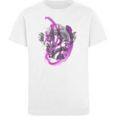 """""""dibujo"""" von Chema Chino - Kinder Organic T-Shirt-3"""