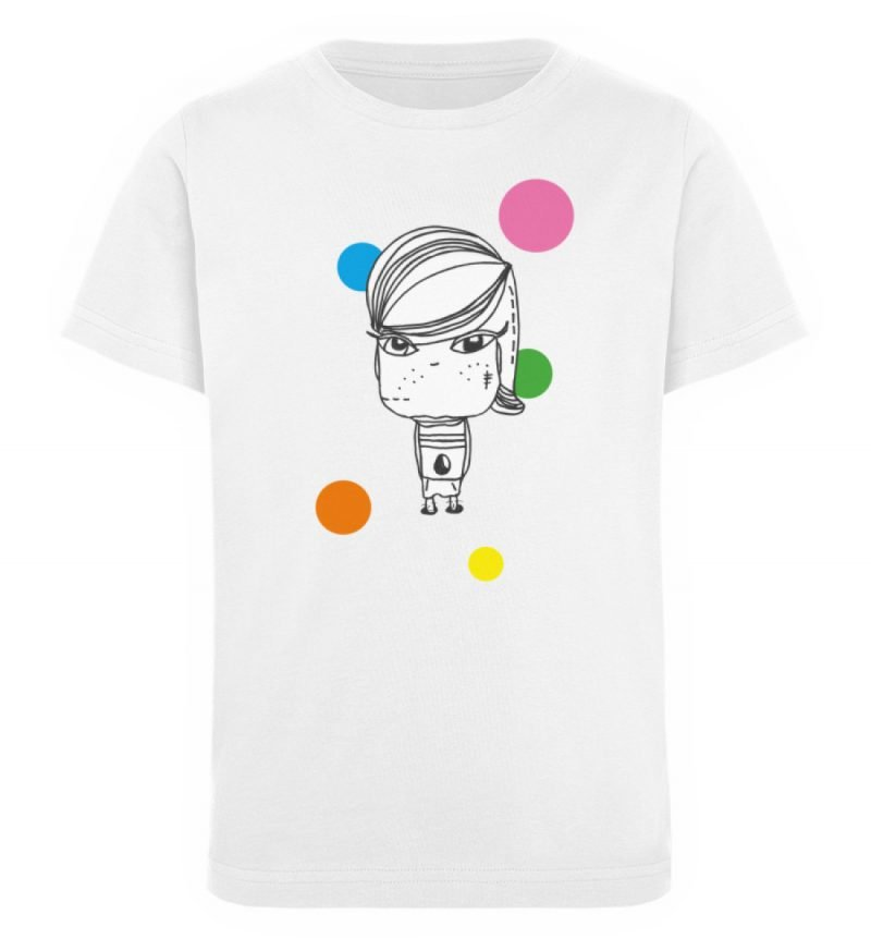 """""""Standpunkte Grunge"""" von Susanne Beucher - Kinder Organic T-Shirt-3"""