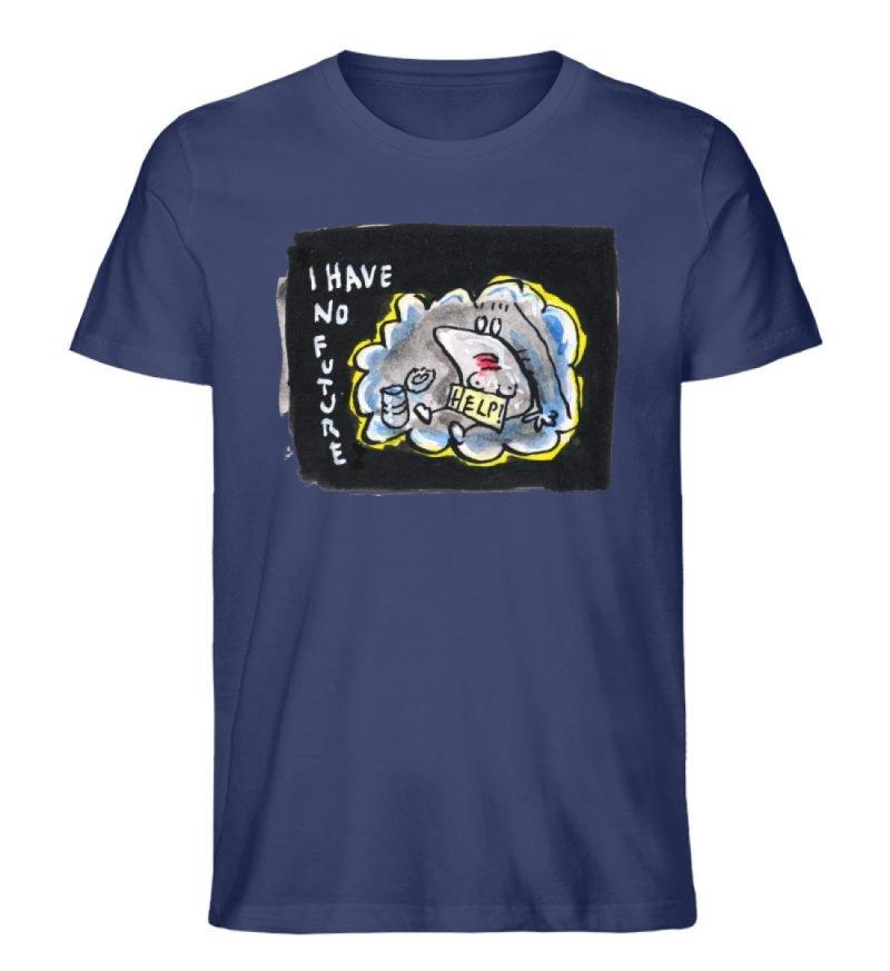"""""""I have no future"""" von Steffen Haas - Herren Premium Organic Shirt-6057"""