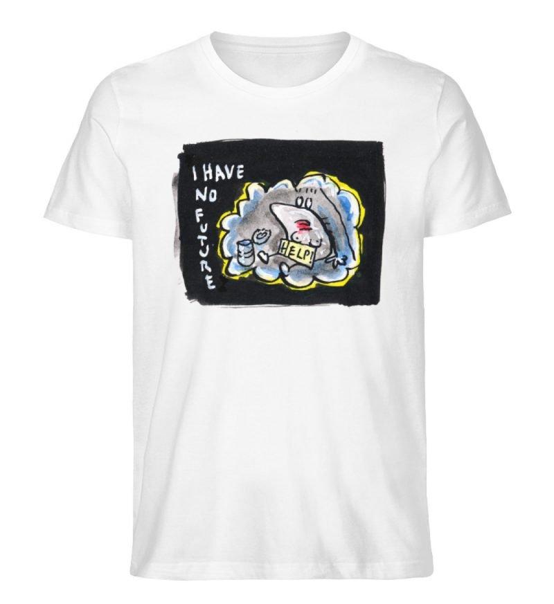 """""""I have no future"""" von Steffen Haas - Herren Premium Organic Shirt-3"""
