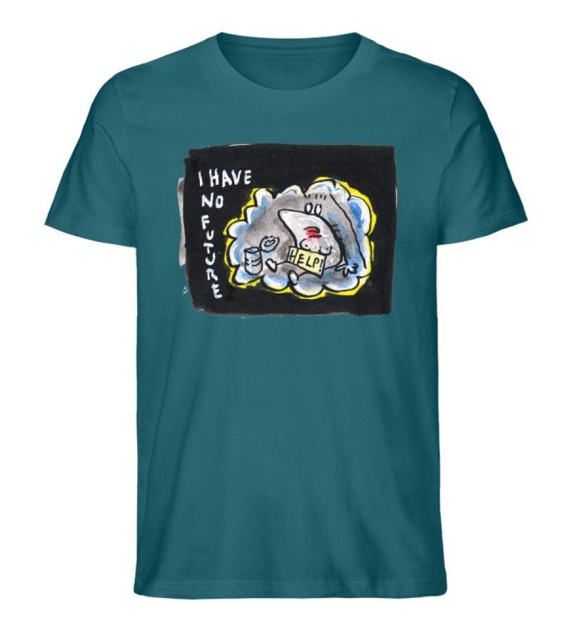 """""""I have no future"""" von Steffen Haas - Herren Premium Organic Shirt-6878"""