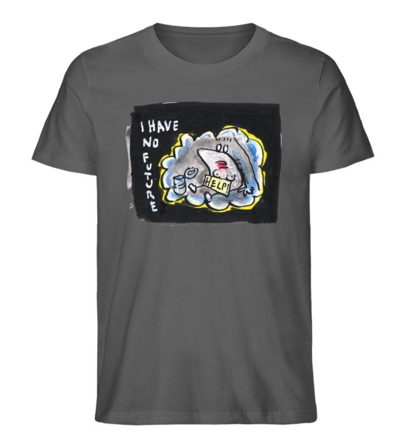 """""""I have no future"""" von Steffen Haas - Herren Premium Organic Shirt-6903"""