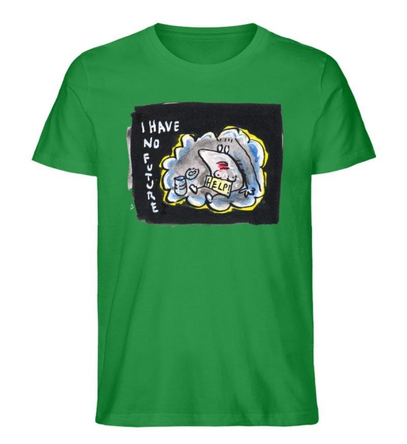 """""""I have no future"""" von Steffen Haas - Herren Premium Organic Shirt-6879"""