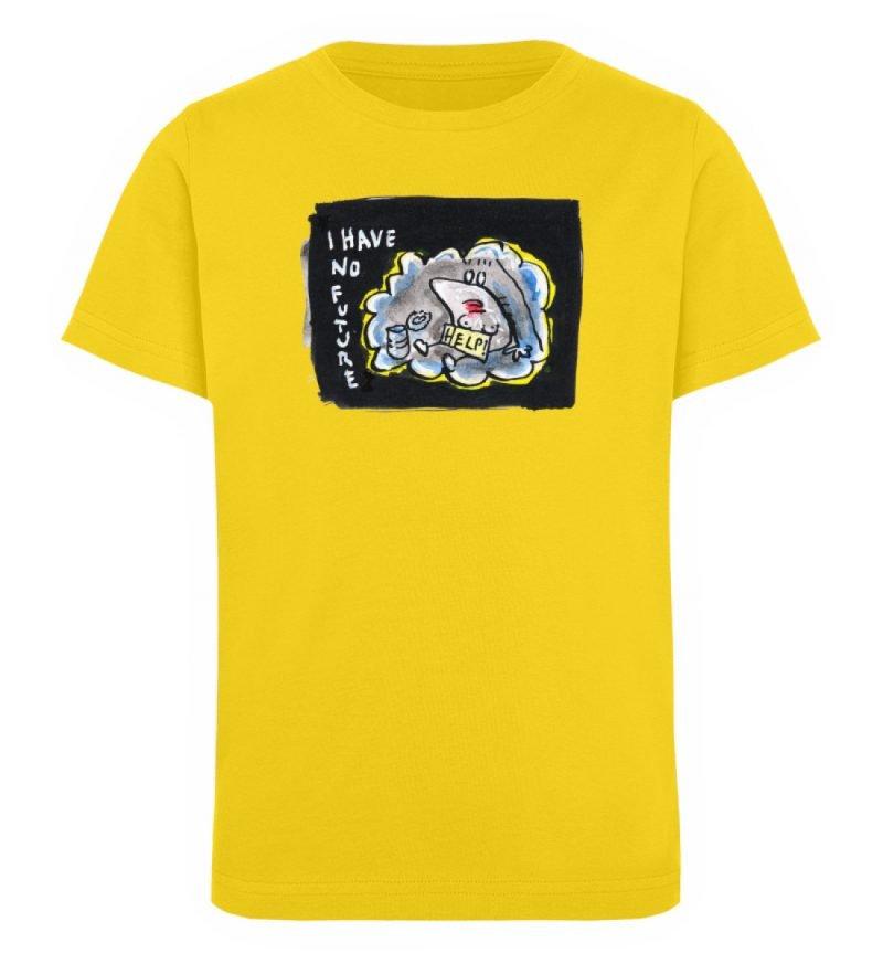 """""""I have no future"""" von Steffen Haas - Kinder Organic T-Shirt-6885"""