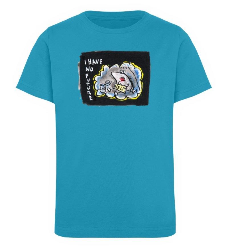 """""""I have no future"""" von Steffen Haas - Kinder Organic T-Shirt-6877"""