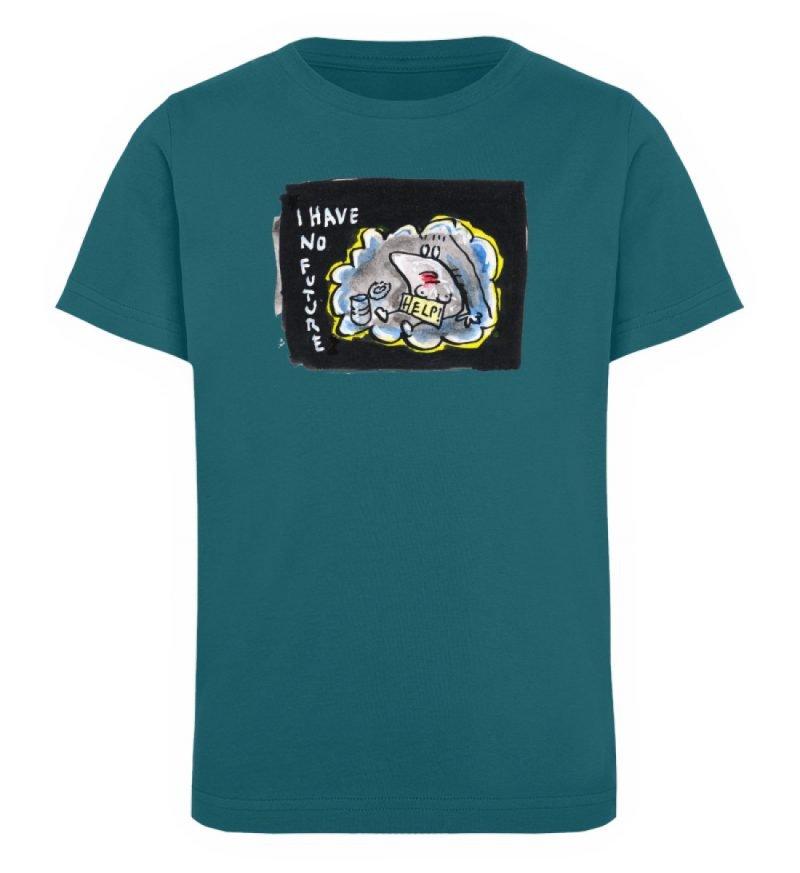 """""""I have no future"""" von Steffen Haas - Kinder Organic T-Shirt-6878"""