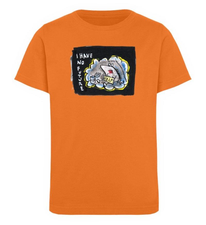 """""""I have no future"""" von Steffen Haas - Kinder Organic T-Shirt-6882"""
