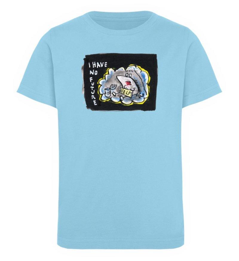 """""""I have no future"""" von Steffen Haas - Kinder Organic T-Shirt-674"""