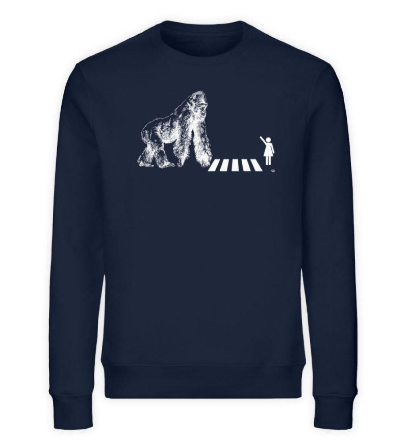 """""""Gorilla"""" von Christoph Everding - Unisex Organic Sweatshirt-6959"""