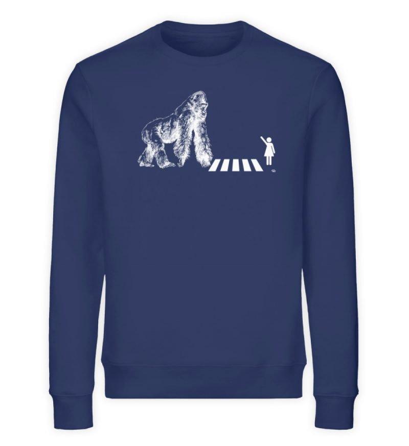 """""""Gorilla"""" von Christoph Everding - Unisex Organic Sweatshirt-6057"""