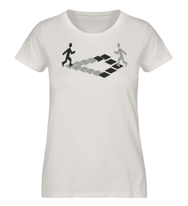 """Penrose"" von Christoph Everding - Damen Premium Organic Shirt-6865"