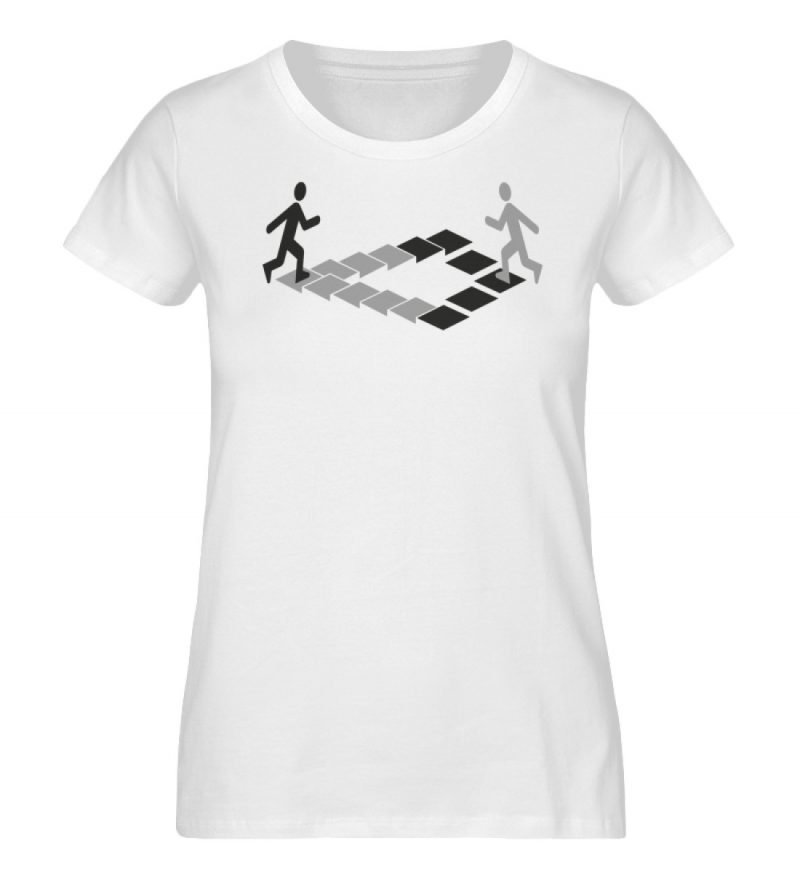 """Penrose"" von Christoph Everding - Damen Premium Organic Shirt-3"