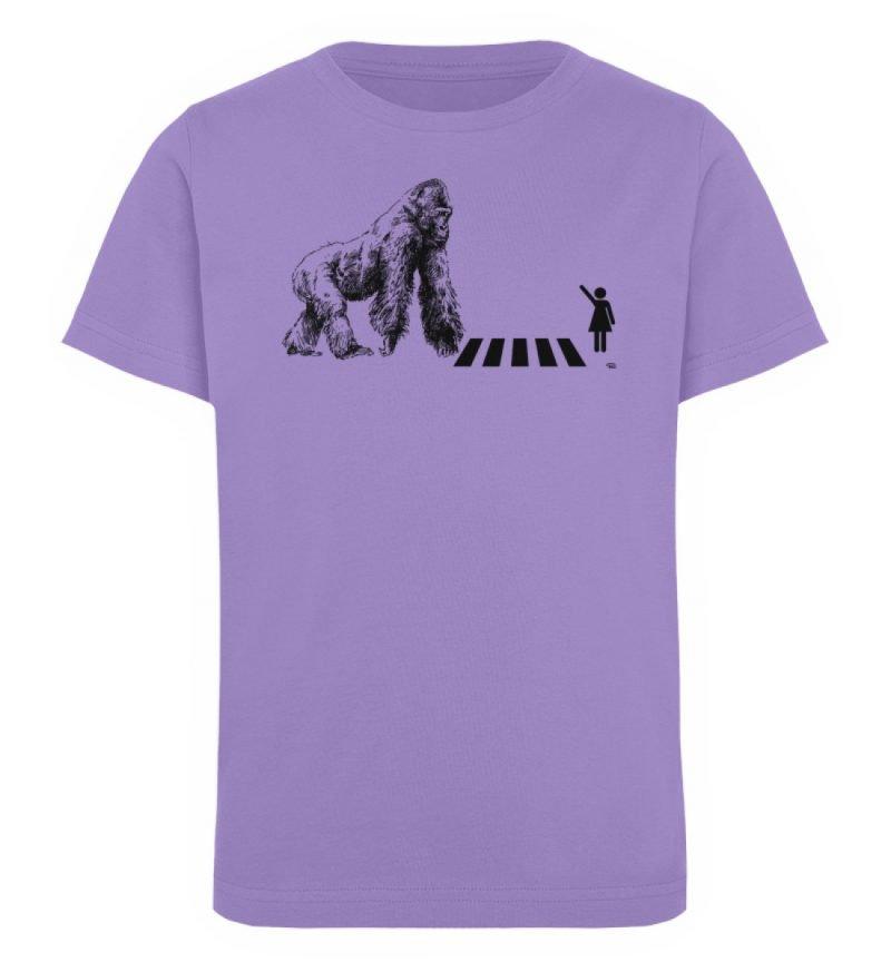 """""""Gorilla"""" von Christoph Everding - Kinder Organic T-Shirt-6884"""