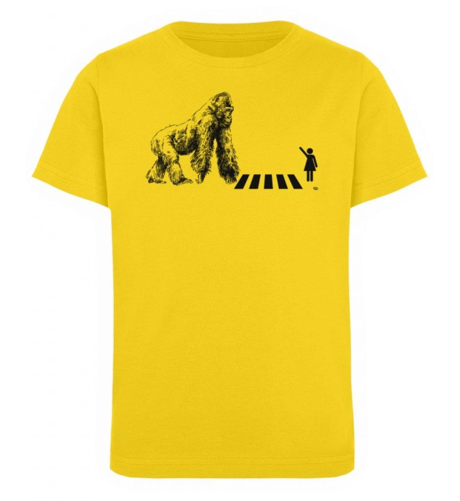 """""""Gorilla"""" von Christoph Everding - Kinder Organic T-Shirt-6885"""