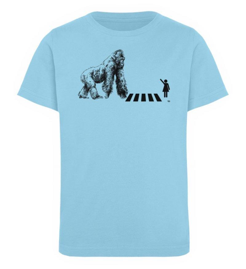 """""""Gorilla"""" von Christoph Everding - Kinder Organic T-Shirt-674"""