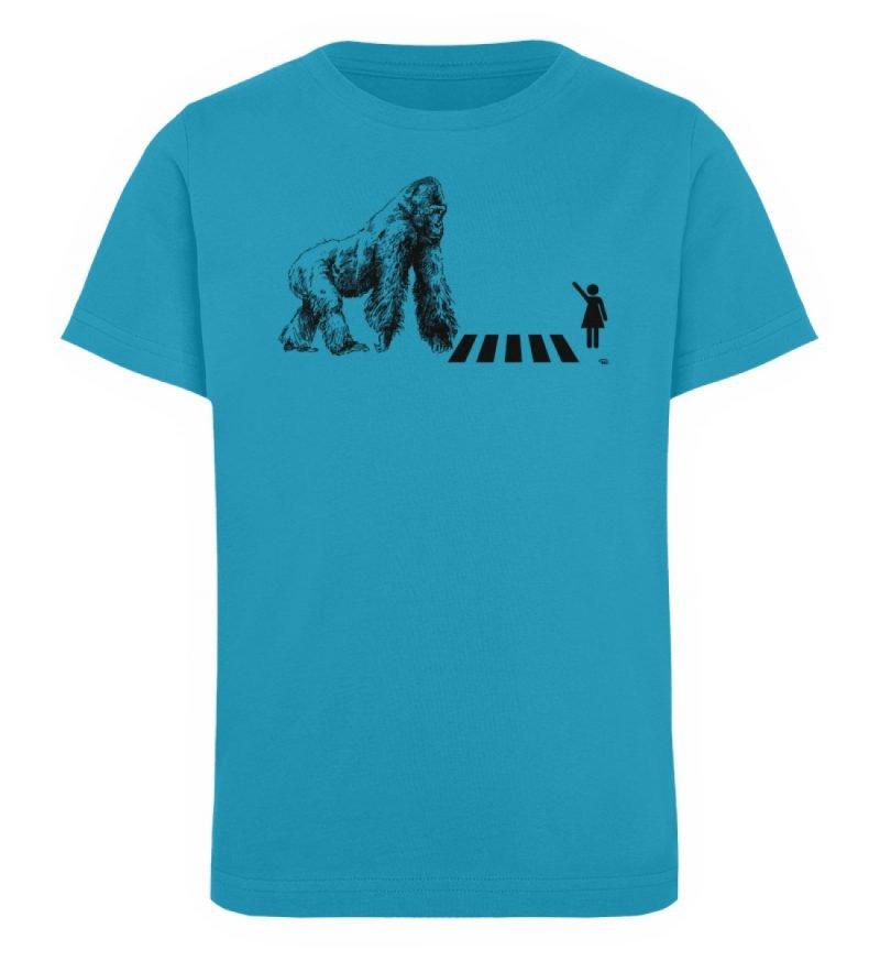 """""""Gorilla"""" von Christoph Everding - Kinder Organic T-Shirt-6877"""