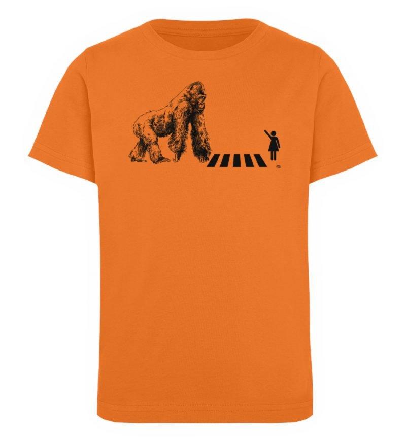 """""""Gorilla"""" von Christoph Everding - Kinder Organic T-Shirt-6882"""