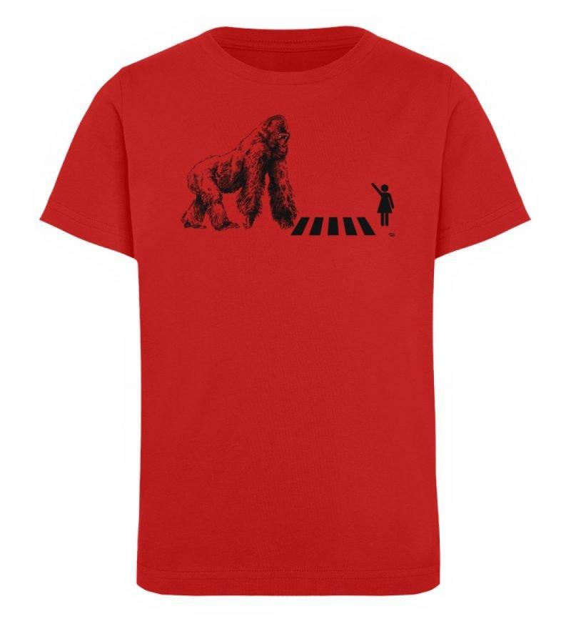 """""""Gorilla"""" von Christoph Everding - Kinder Organic T-Shirt-4"""