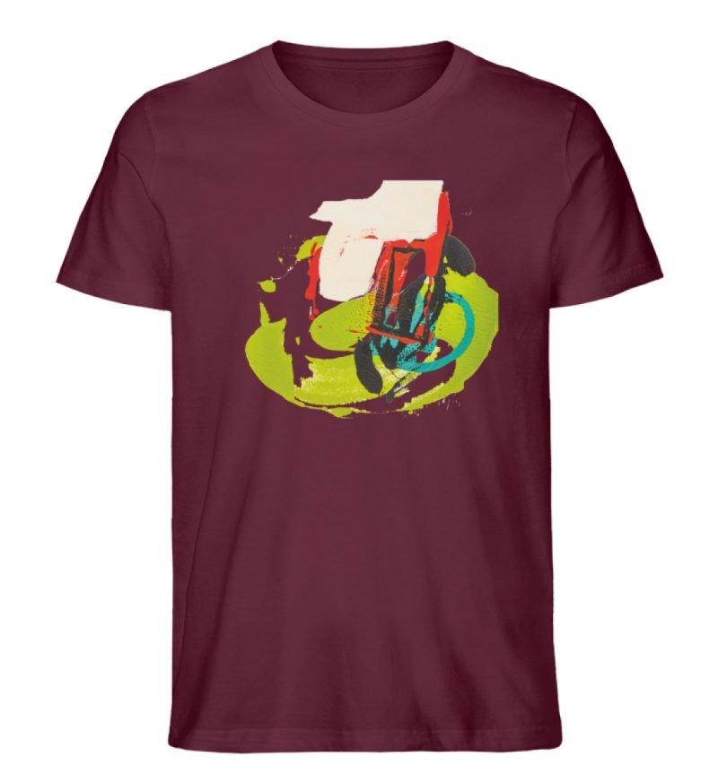 """""""Die Zukunft wird knapp"""" von Sarah Rogen - Herren Premium Organic Shirt-839"""
