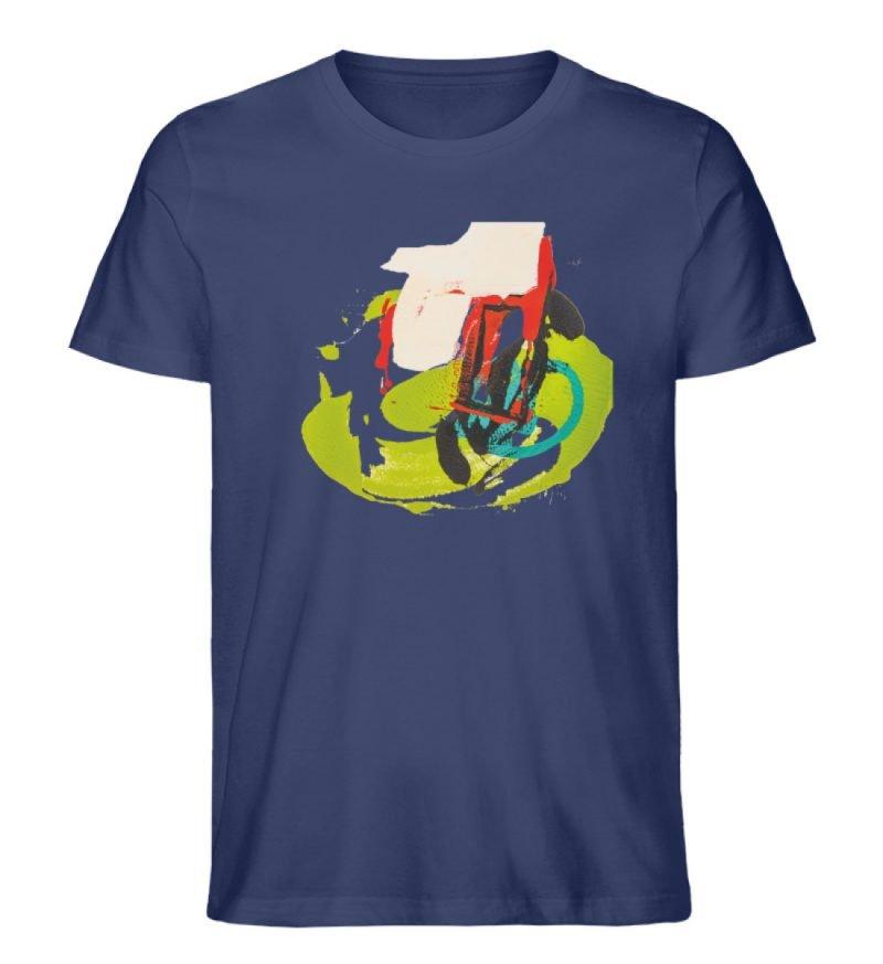 """""""Die Zukunft wird knapp"""" von Sarah Rogen - Herren Premium Organic Shirt-6057"""