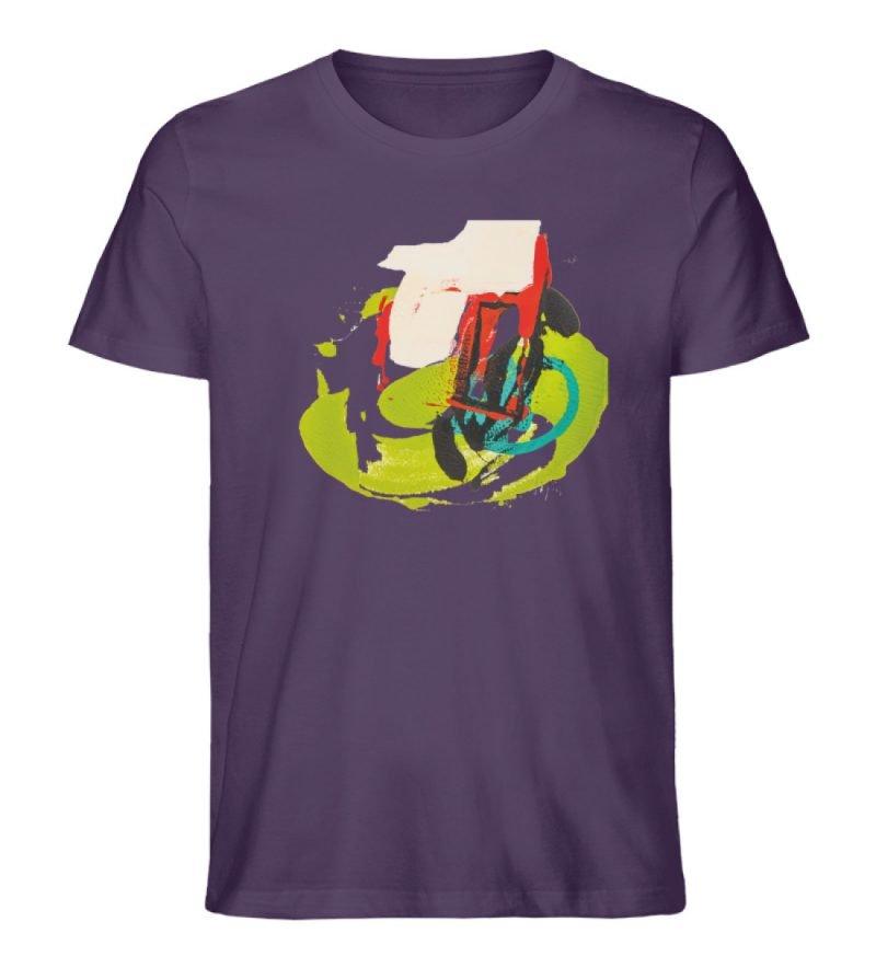 """""""Die Zukunft wird knapp"""" von Sarah Rogen - Herren Premium Organic Shirt-6876"""