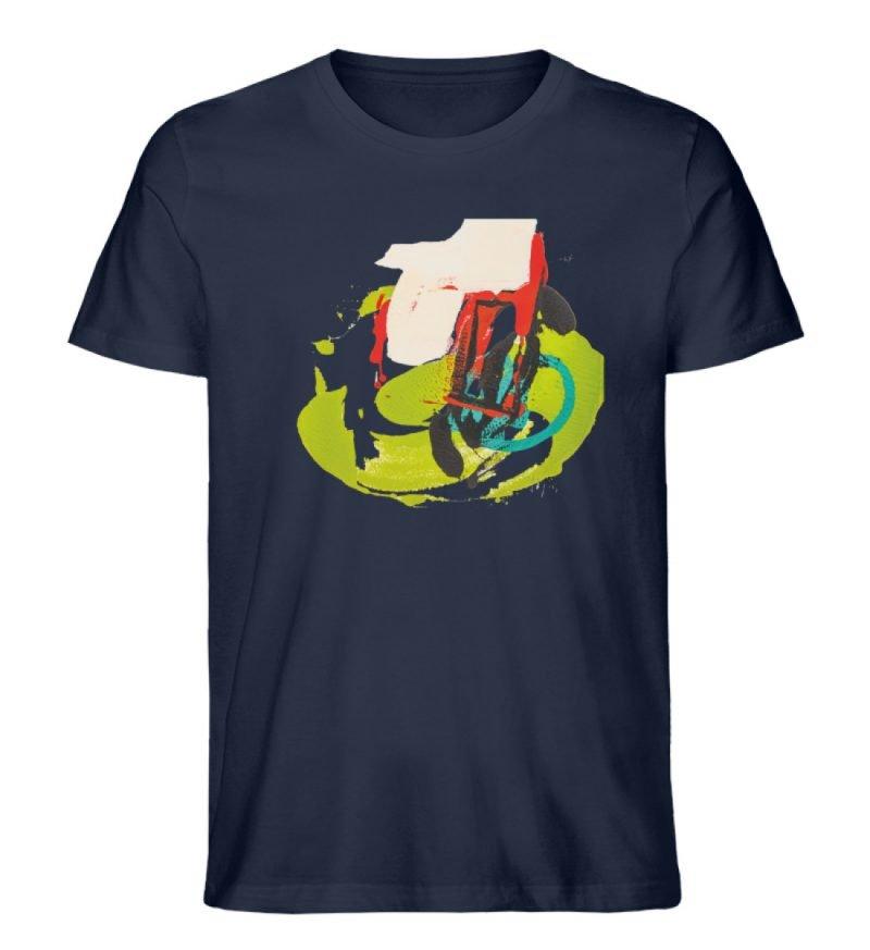 """""""Die Zukunft wird knapp"""" von Sarah Rogen - Herren Premium Organic Shirt-6959"""