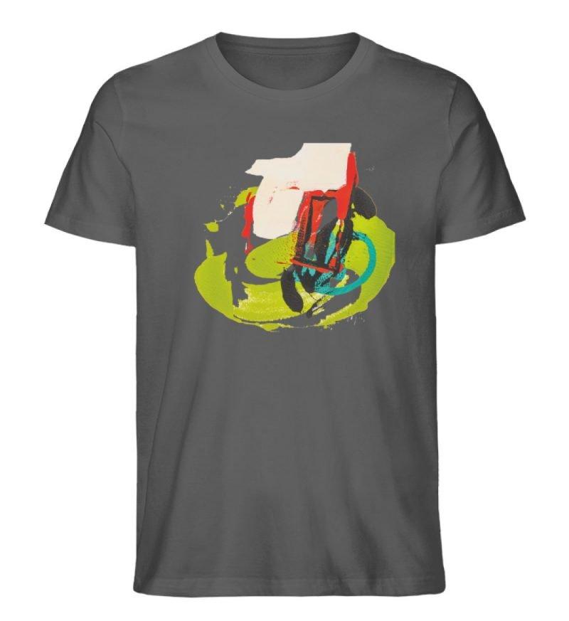 """""""Die Zukunft wird knapp"""" von Sarah Rogen - Herren Premium Organic Shirt-6903"""