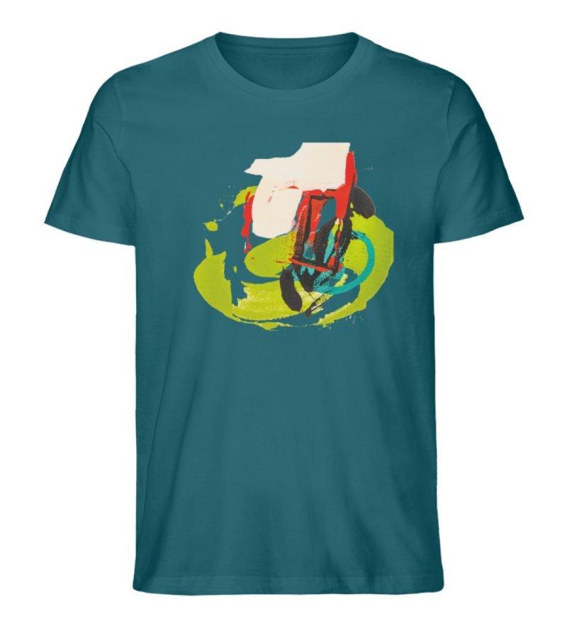 """""""Die Zukunft wird knapp"""" von Sarah Rogen - Herren Premium Organic Shirt-6878"""