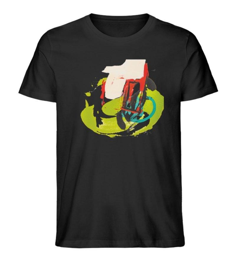 """""""Die Zukunft wird knapp"""" von Sarah Rogen - Herren Premium Organic Shirt-16"""