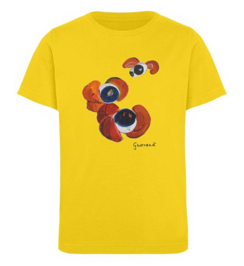 """""""Guaraná"""" von Alrun Prünster Soares - Kinder Organic T-Shirt-6885"""