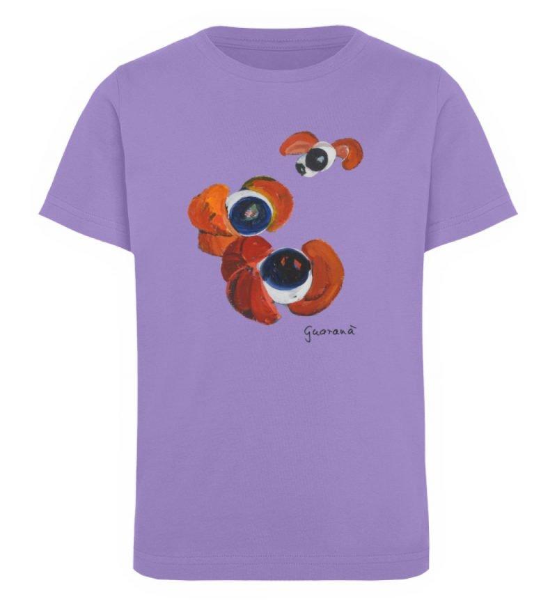 """""""Guaraná"""" von Alrun Prünster Soares - Kinder Organic T-Shirt-6884"""