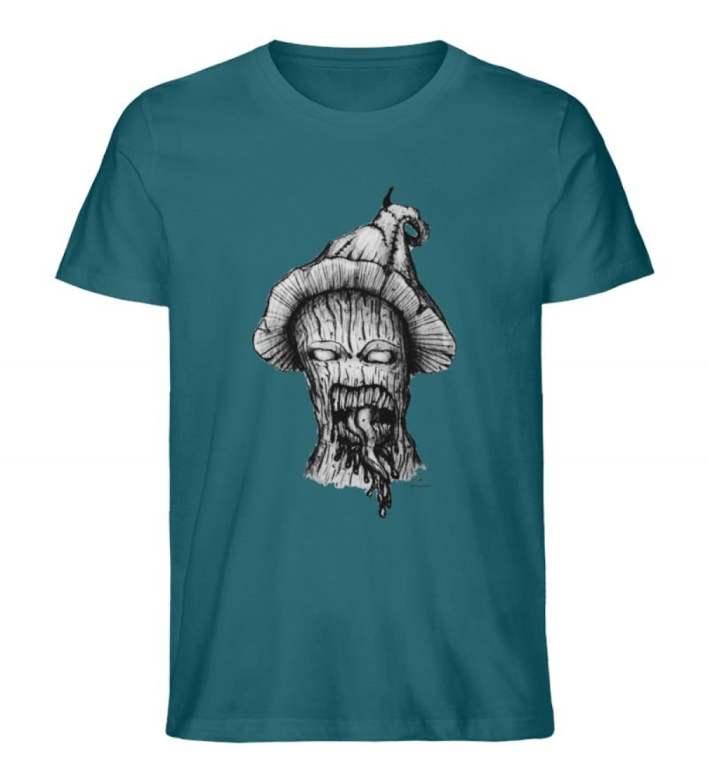 """Infected mushroom"" von Third Eye Collec - Herren Premium Organic Shirt-6878"