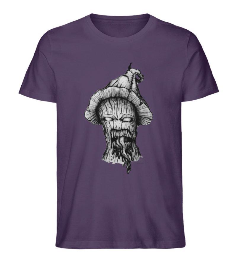 """Infected mushroom"" von Third Eye Collec - Herren Premium Organic Shirt-6876"